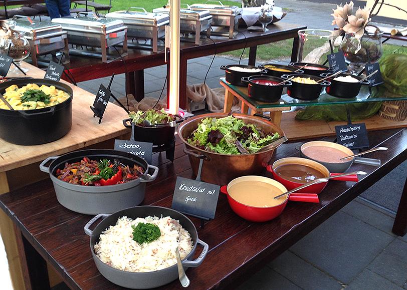 Catering draußen